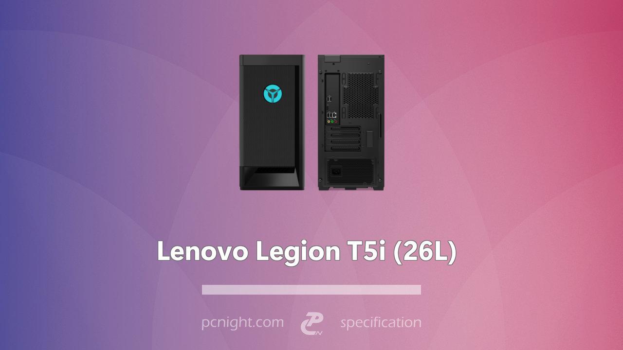 Lenovo Legion T5i (26L) Specs